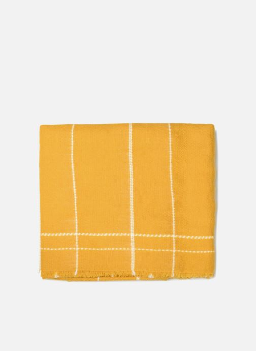 Sjaal Pieces Julia Long Scarf Geel model