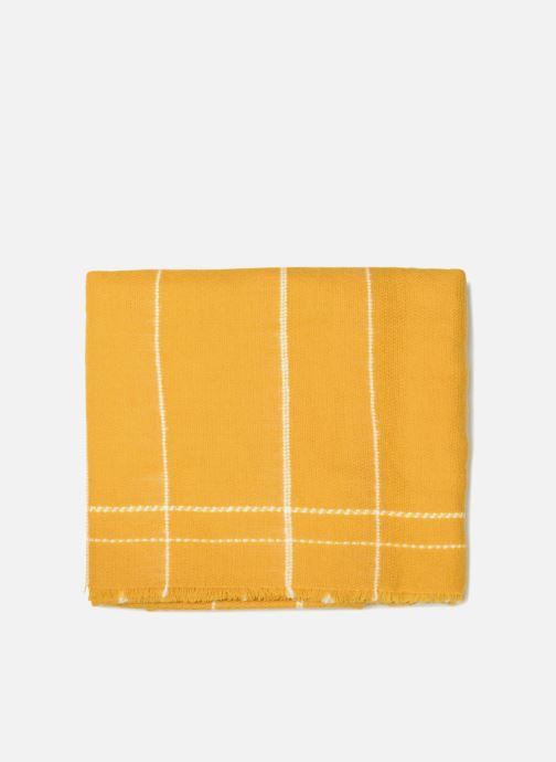 Schal Pieces Julia Long Scarf gelb schuhe getragen