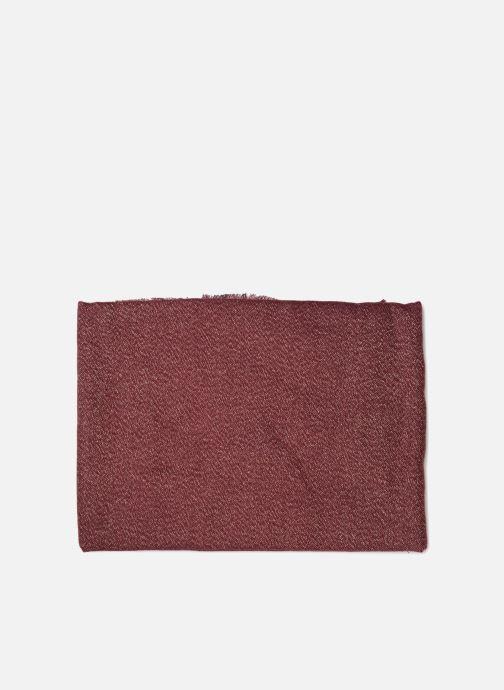 Schal Pieces Galo Long Scarf weinrot schuhe getragen