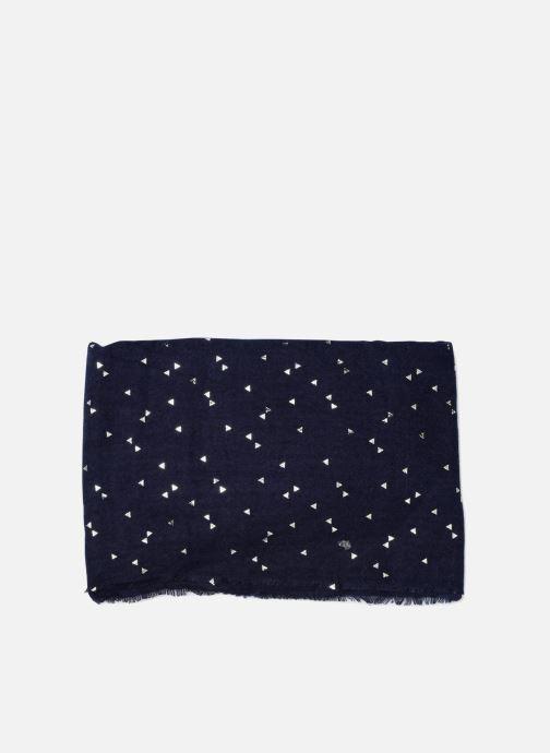 Echarpes et Foulards Pieces Kira Long Scarf Bleu vue portées chaussures