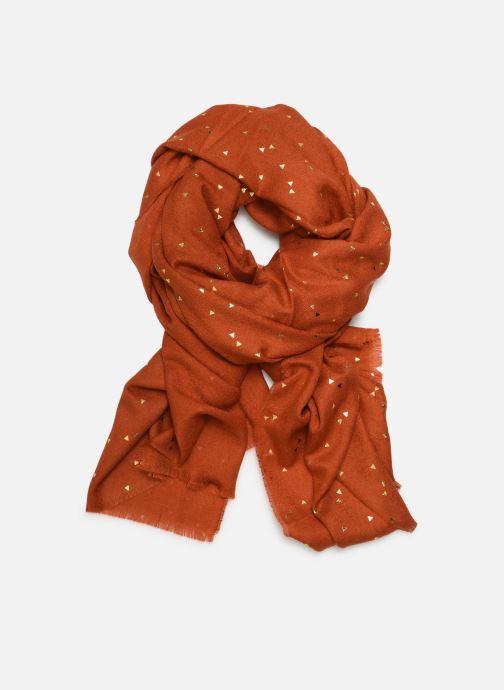 Echarpes et Foulards Pieces Kira Long Scarf Orange vue détail/paire