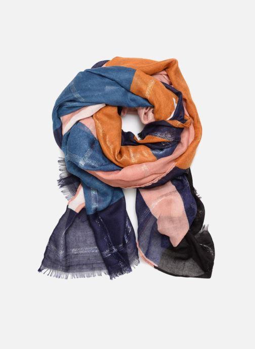 Halstørklæde og tørklæde Pieces Tasselo Long Scarf Lilla detaljeret billede af skoene