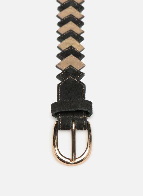 Ceintures Pieces Kimber Leather Jeans Belt Noir vue portées chaussures