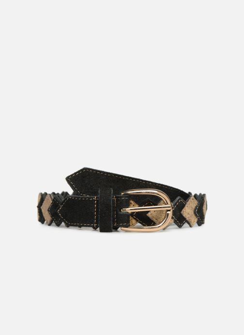Riemen Pieces Kimber Leather Jeans Belt Zwart detail
