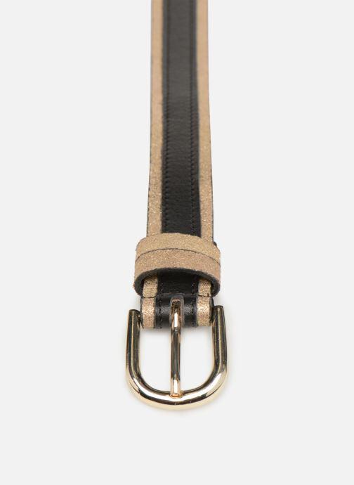 Gürtel Pieces Lonni Suede Jeans Belt schwarz schuhe getragen