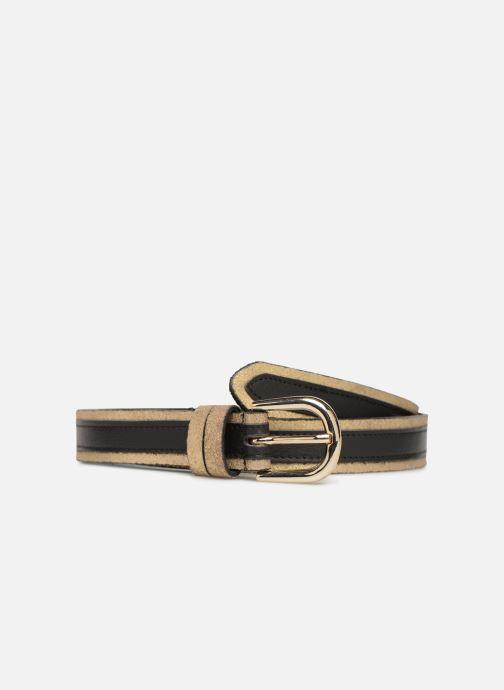 Ceintures Pieces Lonni Suede Jeans Belt Noir vue détail/paire