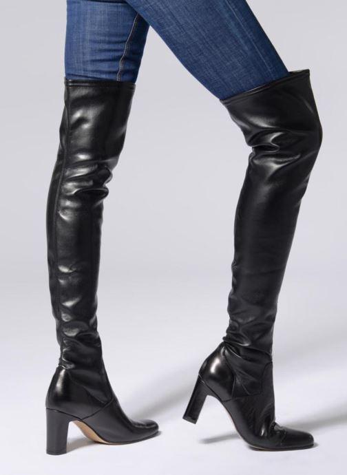 Stiefel Elizabeth Stuart Giens 535 2 schwarz ansicht von unten / tasche getragen