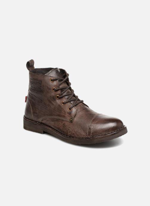 Boots en enkellaarsjes Levi's Track 2 Bruin detail