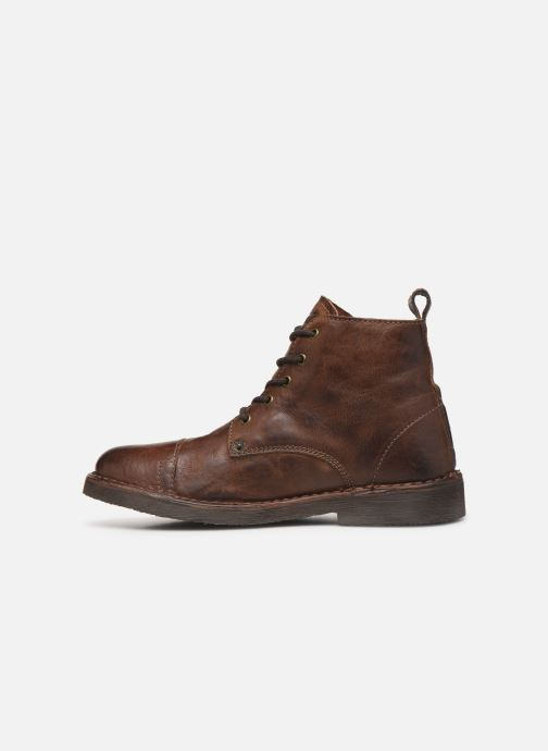 Ankle boots Levi's Track 2 Brown front view