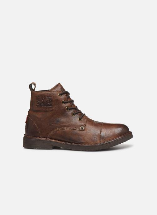 Ankle boots Levi's Track 2 Brown back view