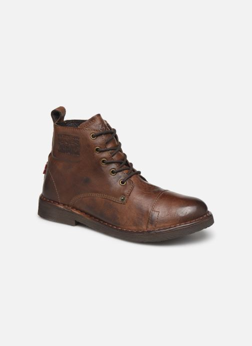 Ankle boots Levi's Track 2 Brown detailed view/ Pair view