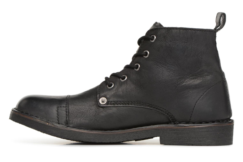 Bottines et boots Levi's Track 2 Noir vue face