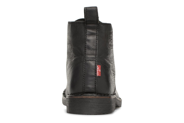 Bottines et boots Levi's Track 2 Noir vue droite