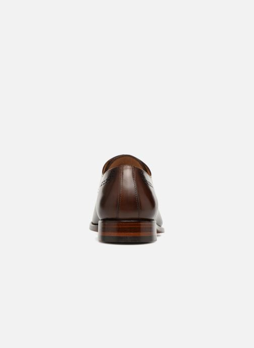 Lace-up shoes Marvin&Co Luxe Clenson - Cousu Goodyear Brown view from the right