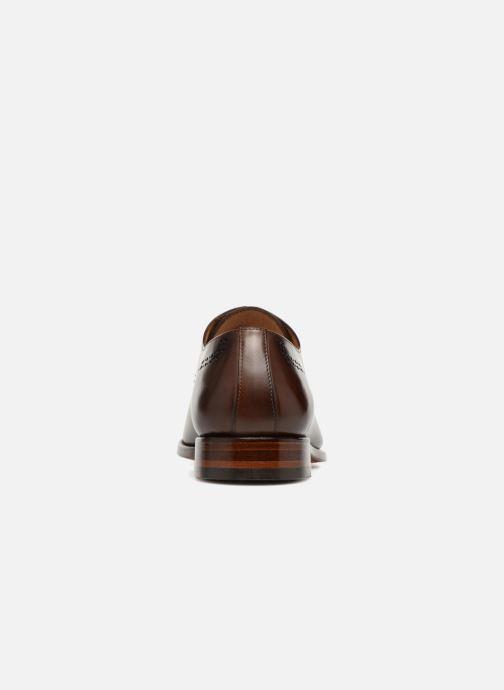 Zapatos con cordones Marvin&Co Luxe Clenson - Cousu Goodyear Marrón vista lateral derecha