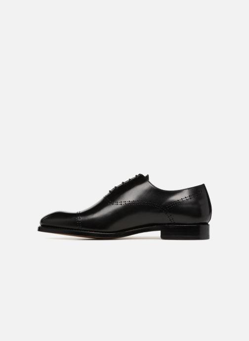 Zapatos con cordones Marvin&Co Luxe Clenson - Cousu Goodyear Negro vista de frente