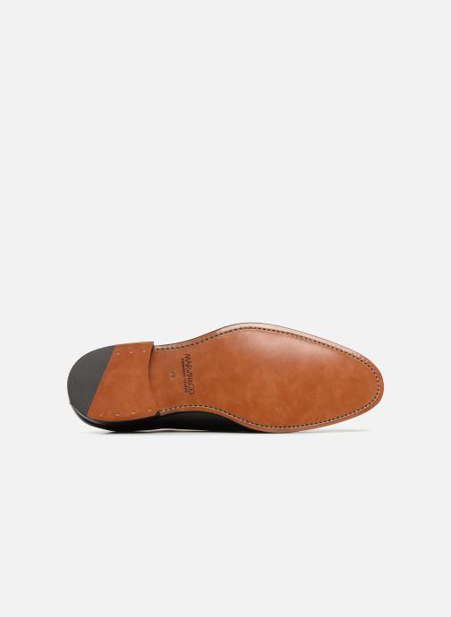 Zapatos con cordones Marvin&Co Luxe Clenson - Cousu Goodyear Negro vista de arriba