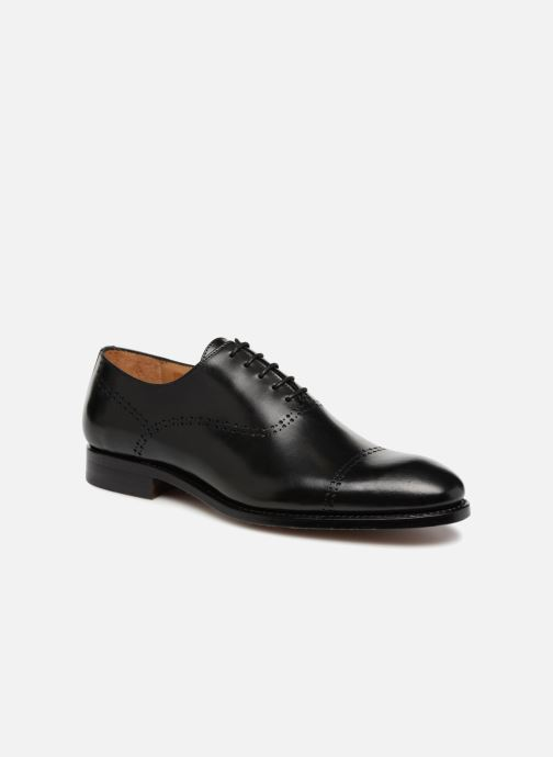Zapatos con cordones Marvin&Co Luxe Clenson - Cousu Goodyear Negro vista de detalle / par