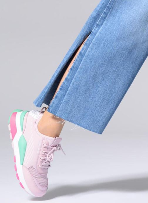 523c8763ddb Trainers Puma Rs 0 Play Pink view from underneath / model view