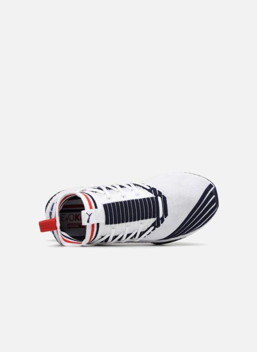 Sneaker Puma Tsugi Jun Sport Stripes weiß ansicht von links