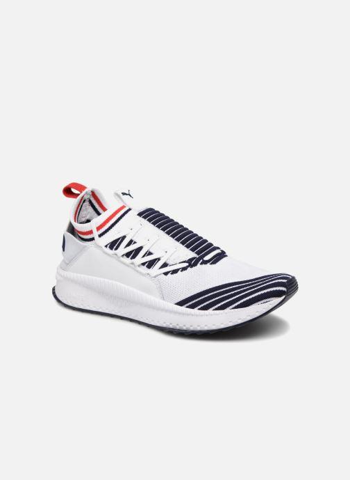 Sneakers Puma Tsugi Jun Sport Stripes Hvid detaljeret billede af skoene