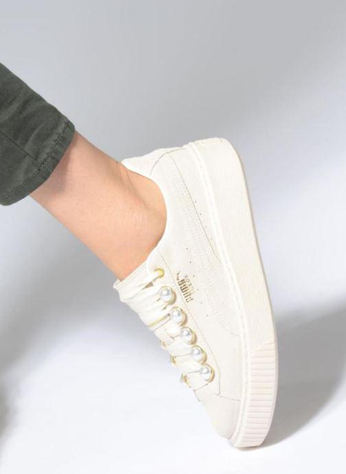Sneakers Puma Platform Bling Wns Beige onder