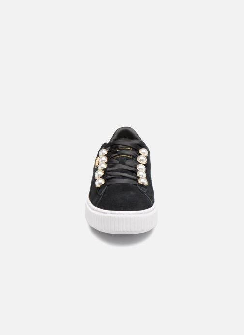 Baskets Puma Platform Bling Wns Noir vue portées chaussures