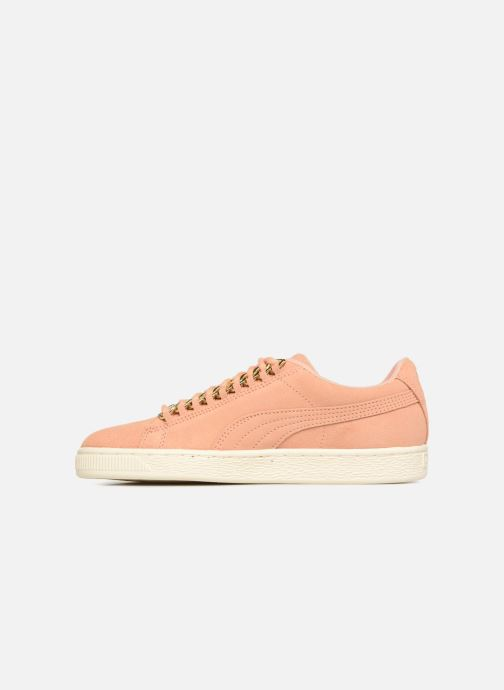 Trainers Puma Suede Chain Wns Pink front view