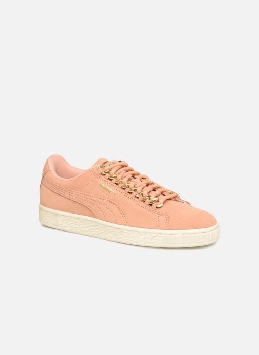 Trainers Puma Suede Chain Wns Pink detailed view/ Pair view