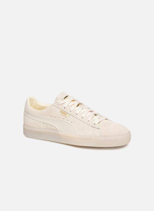 a27fb226c8c Sneakers Puma Suede Classic Satin Beige detaljeret billede af skoene