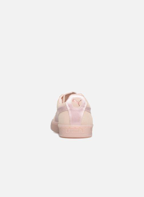 Sneaker Puma Suede Classic Satin rosa ansicht von rechts