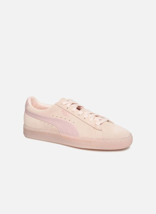 Trainers Puma Suede Classic Satin Pink detailed view/ Pair view