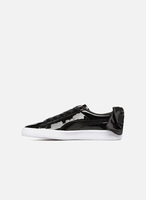 Sneakers Puma Basket Bow Patent Zwart voorkant