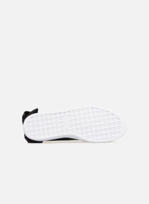 Sneakers Puma Basket Bow Patent Nero immagine dall'alto