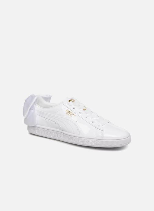 Sneakers Puma Basket Bow Patent Bianco vedi dettaglio/paio