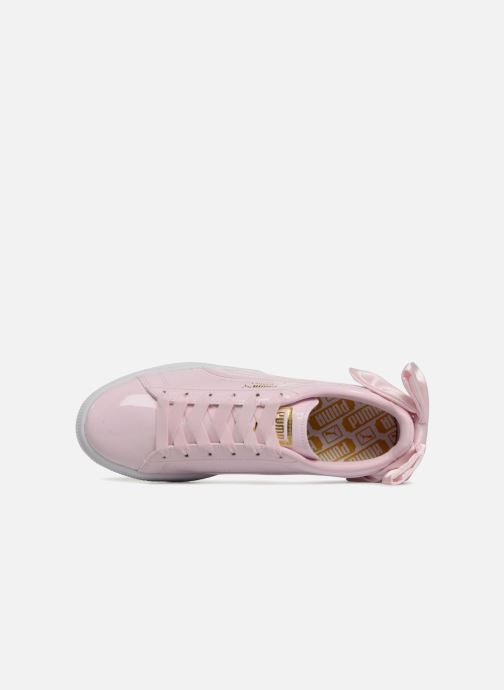 Sneakers Puma Basket Bow Patent Roze links