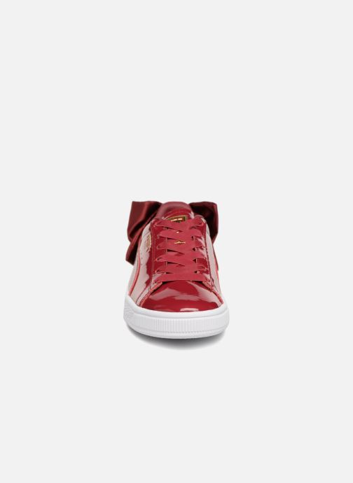Sneakers Puma Basket Bow Patent Rood model