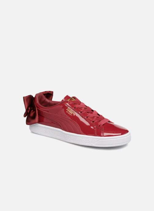 Sneakers Puma Basket Bow Patent Rood detail