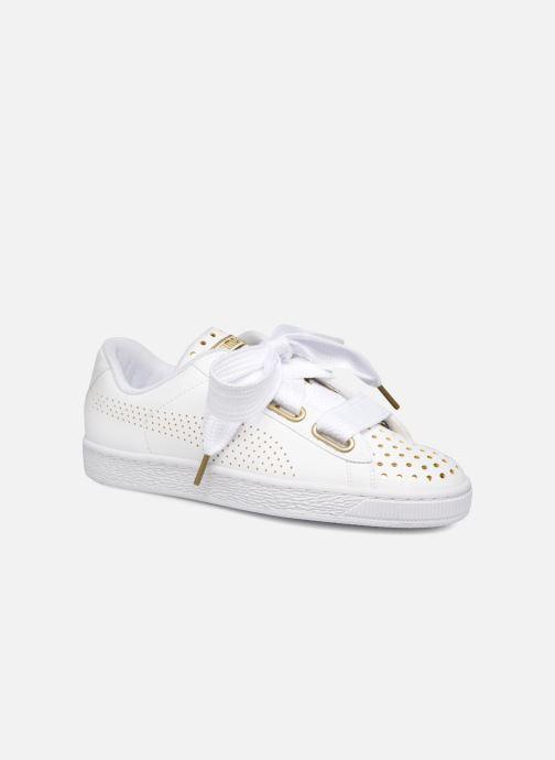 7baf1fd38fb Sneakers Puma Suede Heart Ath Lux Hvid detaljeret billede af skoene