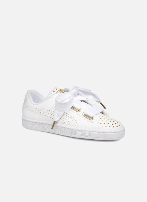 Sneaker Puma Suede Heart Ath Lux weiß detaillierte ansicht/modell