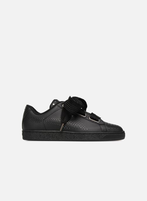Sneakers Puma Suede Heart Ath Lux Nero immagine posteriore