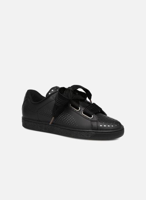 Sneakers Puma Suede Heart Ath Lux Nero vedi dettaglio/paio
