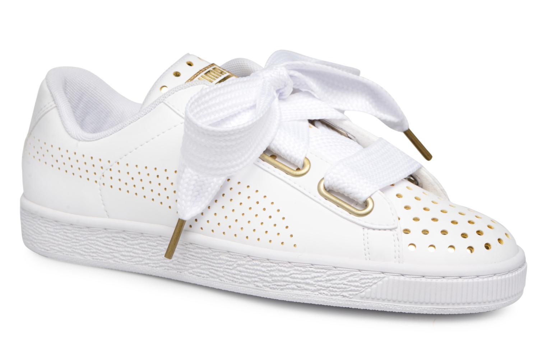 basket puma suede blanche