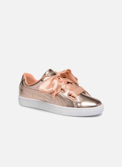 Sneakers Puma Basket Heart Cop Rosa vedi dettaglio/paio