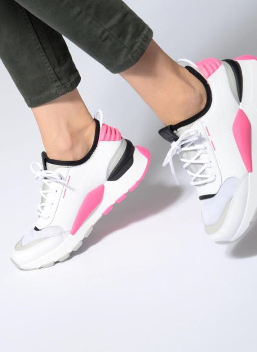 ebed355435b Trainers Puma Rs 0 808 White view from underneath   model view