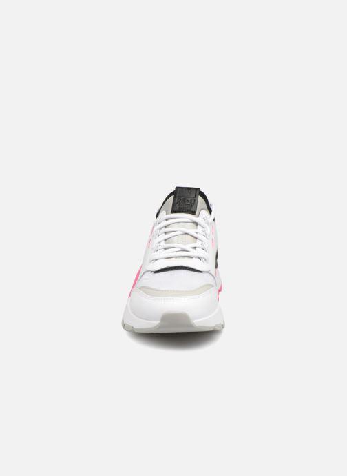 Baskets Puma Rs 0 808 Blanc vue portées chaussures