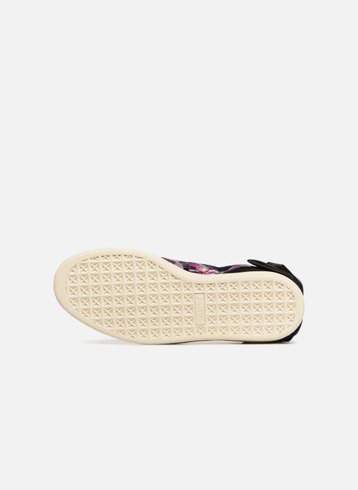 Sneaker Puma Suede Bow Flowery schwarz ansicht von oben