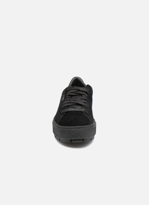 Baskets Puma Platform Trace Animal Noir vue portées chaussures