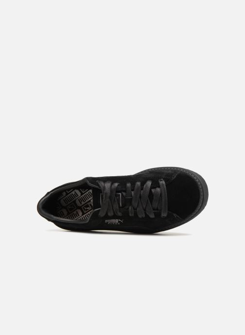 Baskets Puma Platform Trace Animal Noir vue gauche