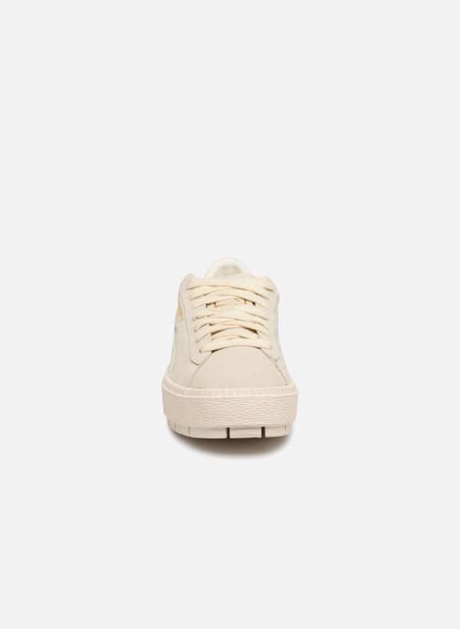 Sneaker Puma Platform Trace Animal beige schuhe getragen